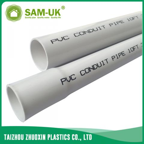 Pvc Conduit Pipe For Electrical Wire From China Manufacturer Taizhou Zhuoxin Plastics Co Ltd